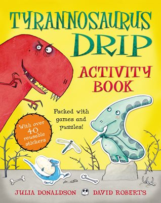 Book cover for Tyrannosaurus Drip Activity Book